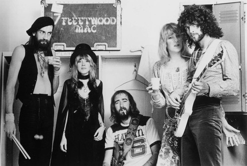 Image for Fleetwood Mac B&W Group Poster