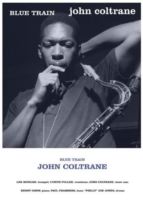 Image for John Coltrane Poster - Blue Train
