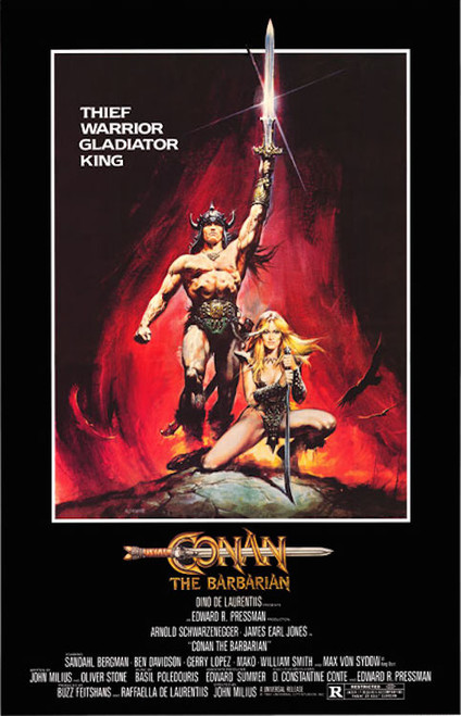 Image for Conan the Barbarian One Sheet Poster