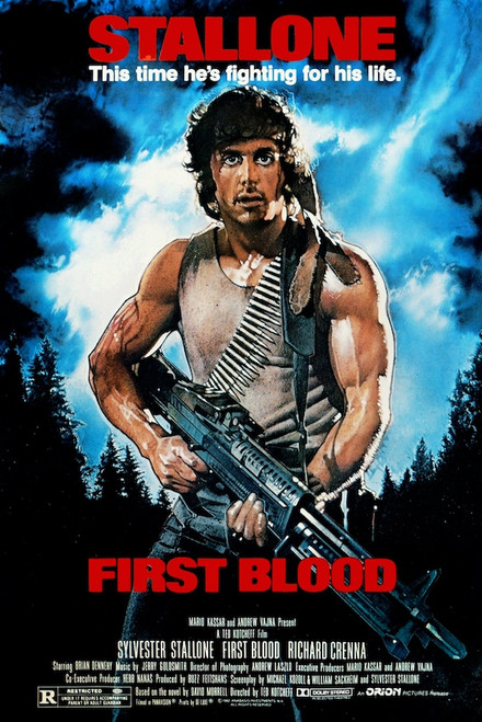 Image for Rambo First Blood One Sheet Poster
