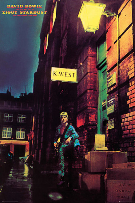 Image for David Bowie Poster - Ziggy Stardust