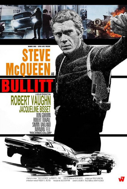 Image for Steve McQueen as Bullitt Poster