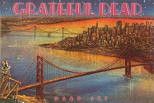 Image for Grateful Dead Dead Set Poster