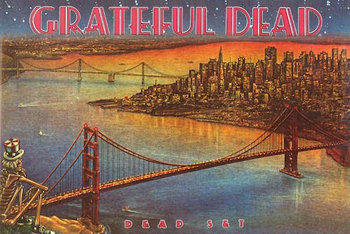 Image for Grateful Dead Dead Set Poster