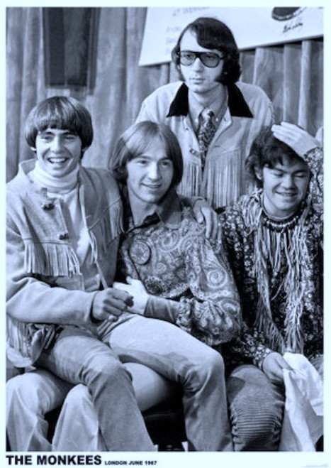Image for The Monkees Poster - London 1967