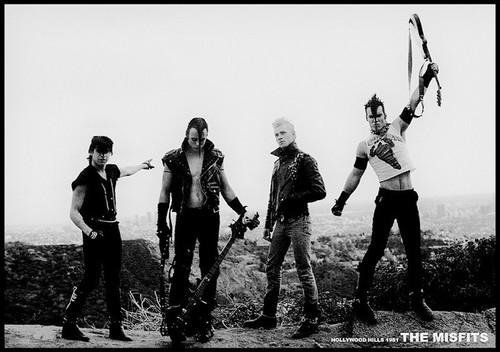 Image for Misfits Poster -  Hollywood Hills 1981