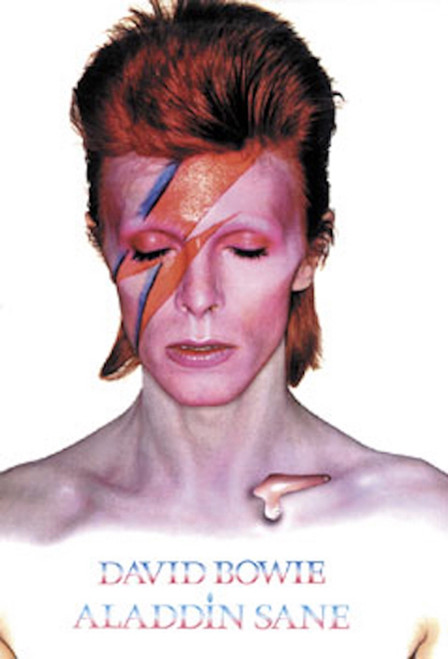 Image for David Bowie Poster - Aladdin Sane