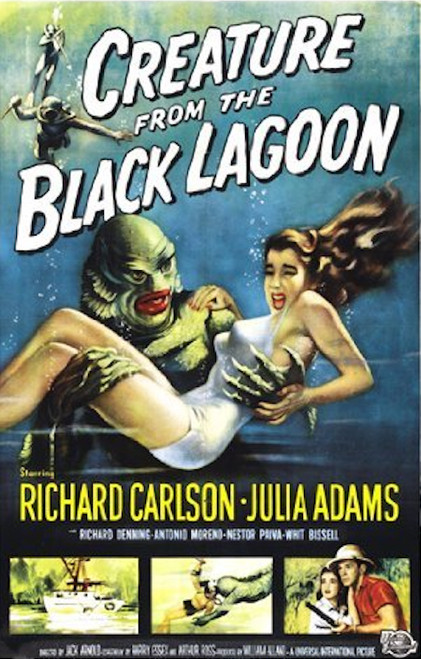 Image for The Creature from the Black Lagoon Poster