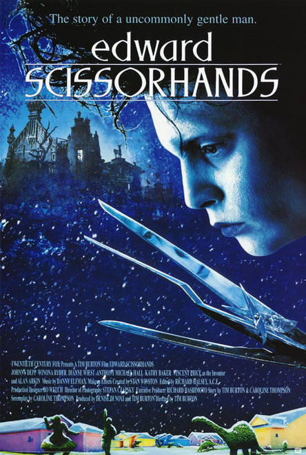 Image for Edward Scissorhands One Sheet Poster