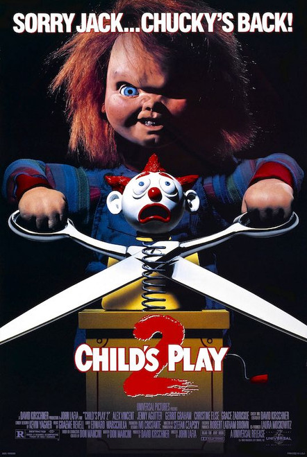 Image for Child's Play 2 Poster - Sorry Jack