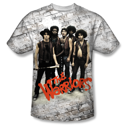 Image for the Warriors Sublimated T-Shirt - Pose 100% Polyester