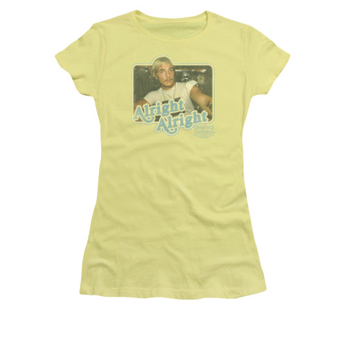 Image for Dazed and Confused Girls T-Shirt - Alright Alright
