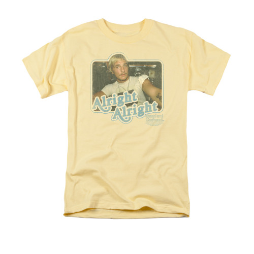 Image for Dazed and Confused T-Shirt - Alright Alright