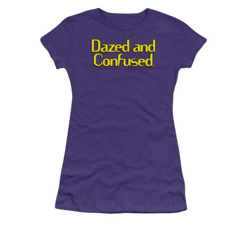 Image for Dazed and Confused Girls T-Shirt - Dazed Logo