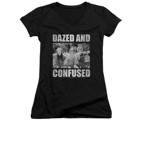 Image for Dazed and Confused Girls V Neck T-Shirt - Rock On