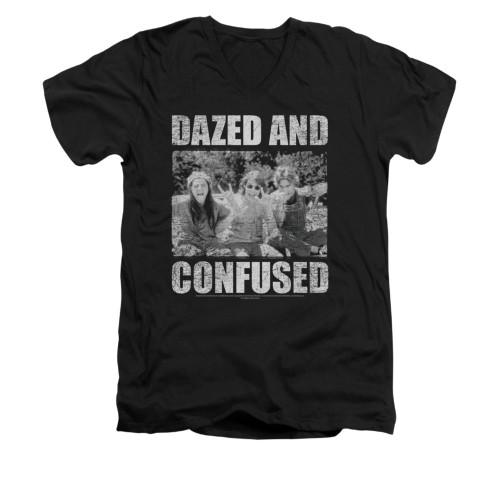 Image for Dazed and Confused V-Neck T-Shirt - Rock On