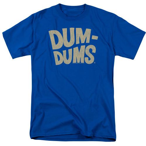 Image for Dum Dums T-Shirt - Distressed Logo