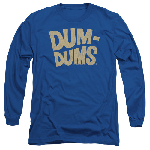 Image for Dum Dums Long Sleeve T-Shirt - Distressed Logo