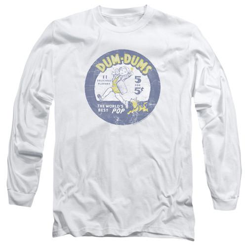 Image for Dum Dums Long Sleeve T-Shirt - Pop Parade