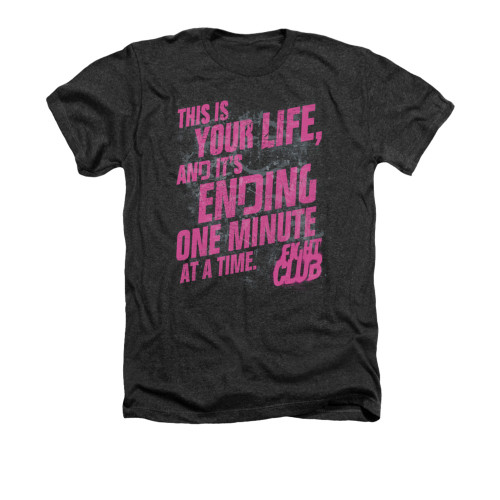 Image for Fight Club Heather T-Shirt - Life Ending