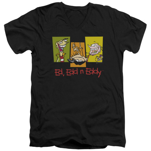 Image for Ed Edd and Eddy V-Neck T-Shirt 3 Ed's
