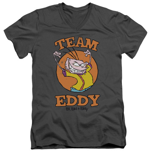 Image for Ed Edd and Eddy V-Neck T-Shirt Team Eddy