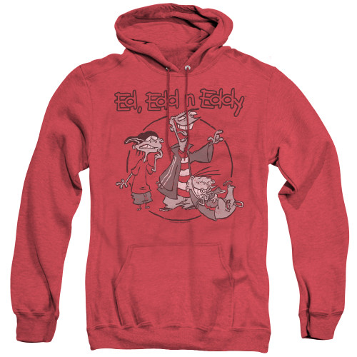 Image for Ed Edd and Eddy Heather Hoodie - Gang