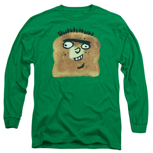 Image for Ed Edd and Eddy Long Sleeve T-Shirt - Ed Toast