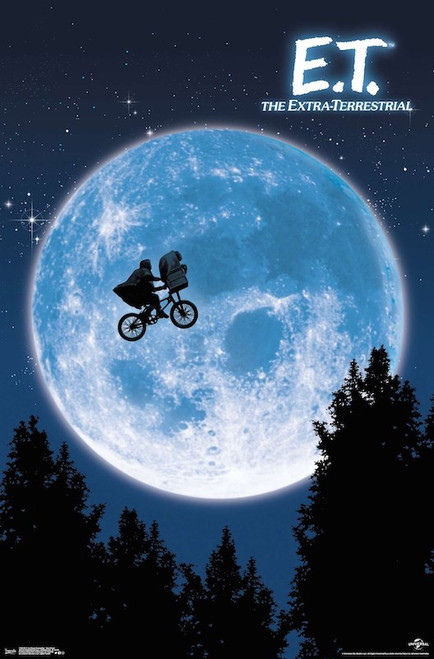 Image for E.T. the Extraterrestrial Poster - Bike