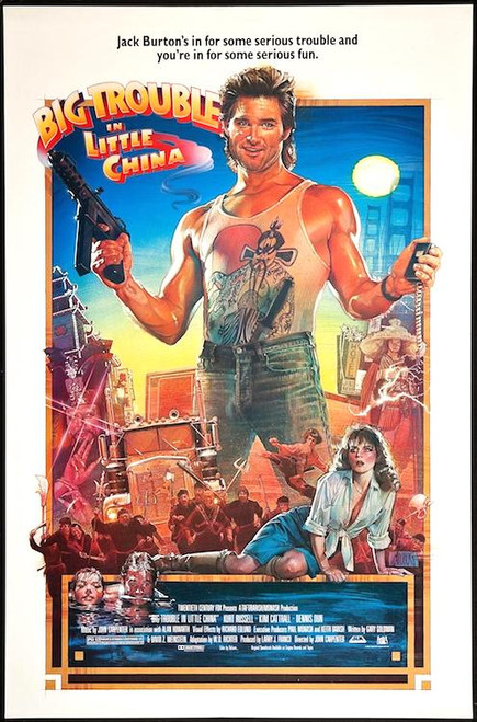 Image for Big Trouble in Little China Poster