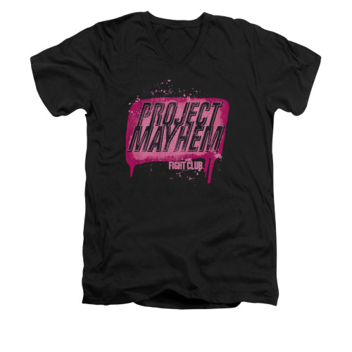 Image for Fight Club V-Neck T-Shirt - Project Mayhem