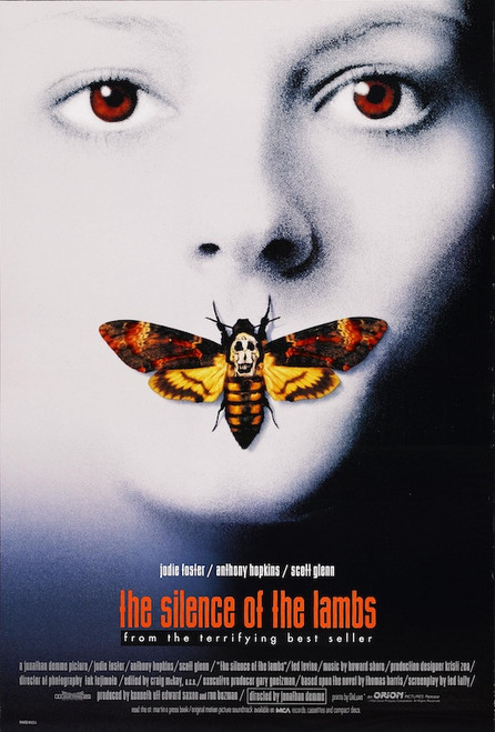 Image for The Silence of the Lambs One Sheet Poster