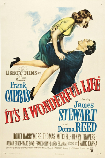 Image for It's a Wonderful Life One Sheet Poster
