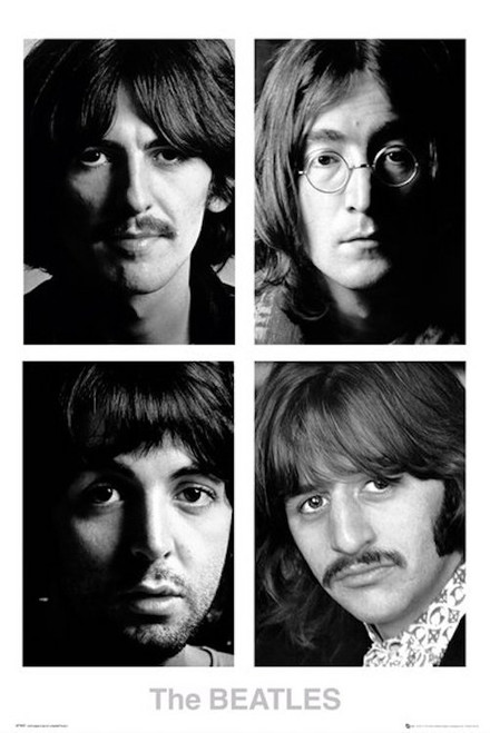 Image for The Beatles Poster - White Album