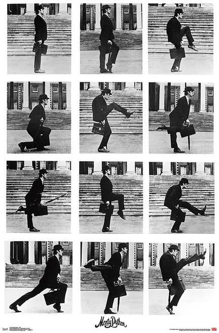Image for Monty Python Poster - Ministry of Silly Walks