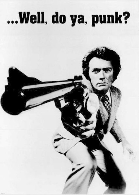 Image for Dirty Harry Poster - Punk?