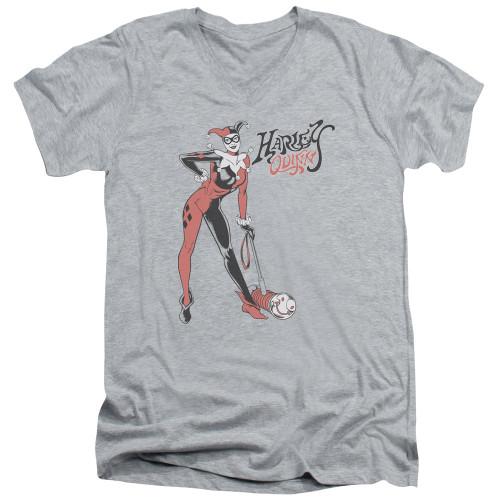 Image for Harley Quinn V-Neck T-Shirt Harley Hammer