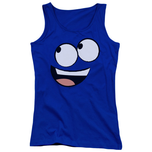 Image for Fosters Home for Imaginary Friends Girls Tank Top - Blue Face
