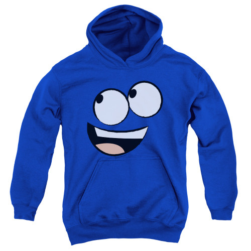 Image for Fosters Home for Imaginary Friends Youth Hoodie - Blue Face
