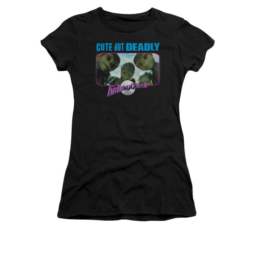 Image for Galaxy Quest Girls T-Shirt - Cute but Deadly