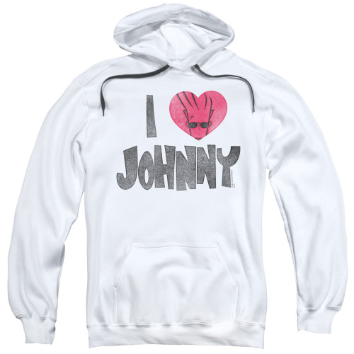 Image for Johnny Bravo Hoodie - I Heart Johnny