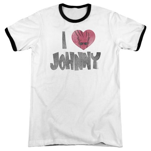 Image for Johnny Bravo Ringer - I Heart Johnny