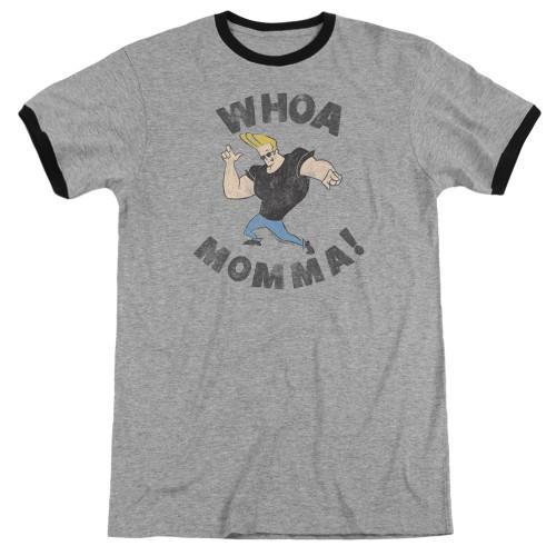 Image for Johnny Bravo Ringer - Whoa Momma on Grey