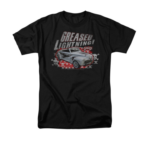 Image for Grease T-Shirt - Greased Lightening