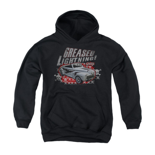 Image for Grease Youth Hoodie - Greased Lightening