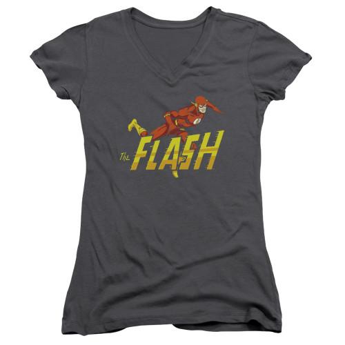 Image for Flash Girls V Neck T-Shirt - 8 Bit Flash