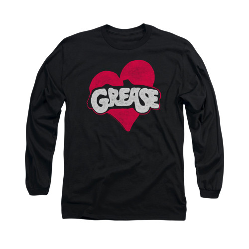 Image for Grease Long Sleeve T-Shirt - Heart