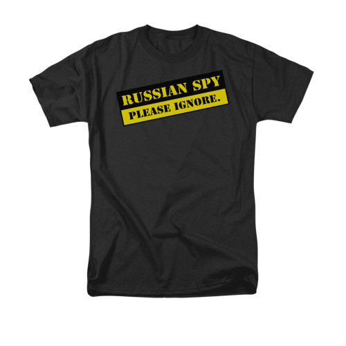 Image for Russian Spy Please Ignore T-Shirt