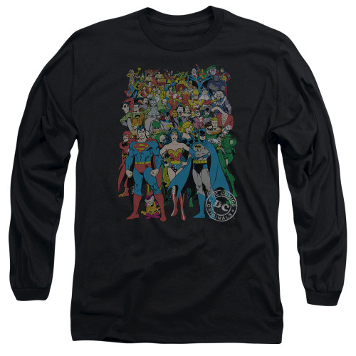 Image for Justice League of America Long Sleeve T-Shirt - Original Universe