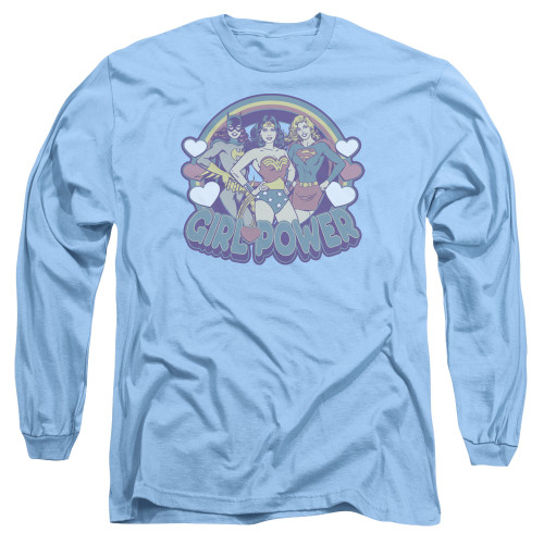 Image for Justice League of America Long Sleeve T-Shirt - Retro Girl Power